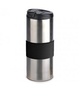 Mug isotherme inox étanche métal brossé