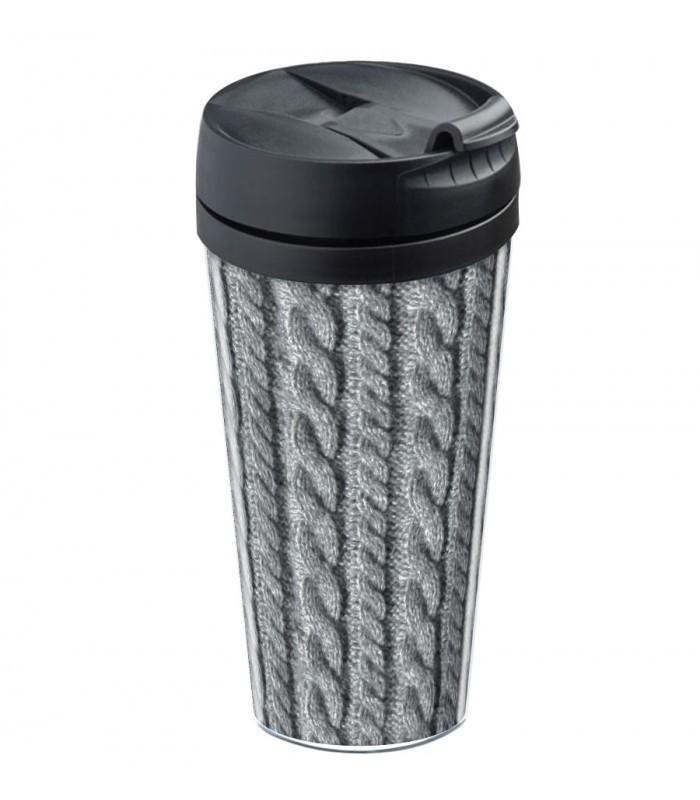 mug de voyage personnalisable isotherme tricot wantit. Black Bedroom Furniture Sets. Home Design Ideas