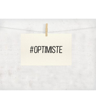 Carte postale personnalisable déco Hashtag