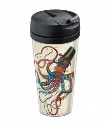 Mug de voyage personnalisable isotherme Mr Octopus