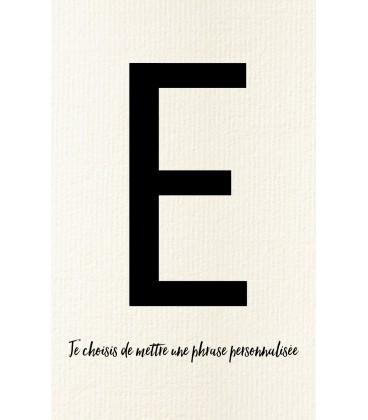 E - Carte postale Love letters (personnalisable)