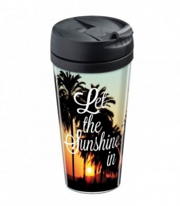 Mug isotherme personnalisé Sunshine