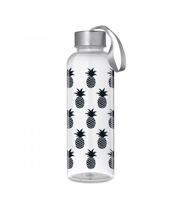 bouteille r utilisable sans bpa motif ananas wantit. Black Bedroom Furniture Sets. Home Design Ideas