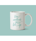 Mug céramique - Don't overthink