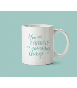 Mug céramique - You are capable