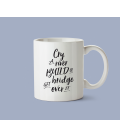 Mug céramique - Get over it