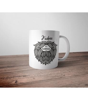 Mug céramique - Barbu hipster