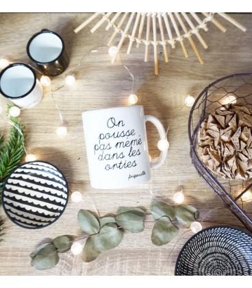 Mug céramique personnalisable - phrase à choisir