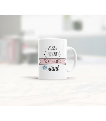 Mug céramique les matins qui chantent - Humeur joyeuse