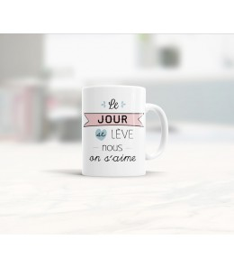 Mug céramique les matins qui chantent - Humeur amoureuse