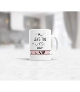 Mug céramique les matins qui chantent - Humeur dynamique