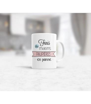Mug céramique les matins qui chantent - Humeur optimiste