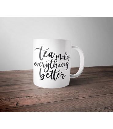Mug céramique - idée cadeau fan de thé