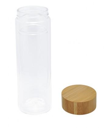 bouteille thé bouchon bambou housse néoprène