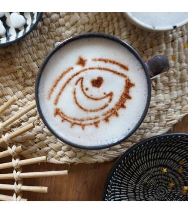 Couvercle mug en silicone panda