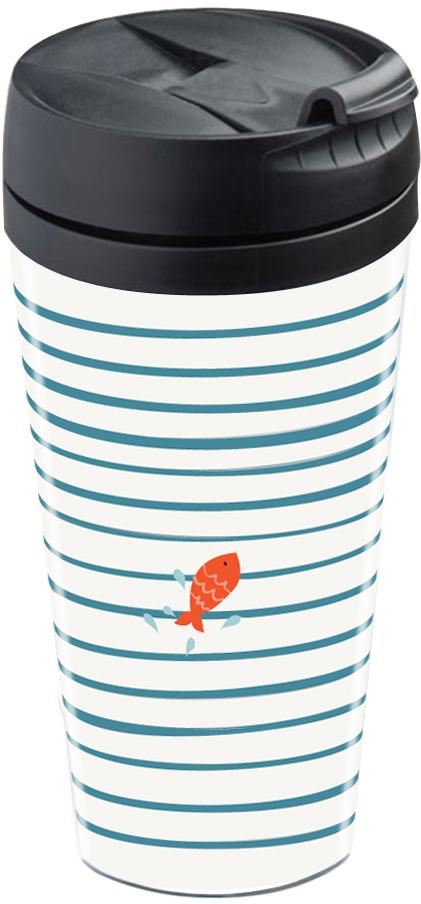 mug isotherme plastique double paroi personnalisable