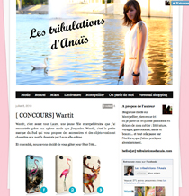 ARTICLE TRIBULATIONS D'ANAIS