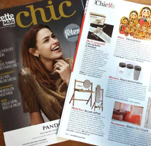 ARTICLE GAZETTE CHIC