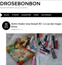 ARTICLE DROSEBONBON
