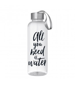 Bouteille réutilisable sans bpa motif All you need